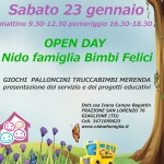 Open Day  sabato 23 febbraio